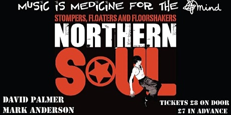 Northern Soul Fundraiser for East Kent Mind tickets