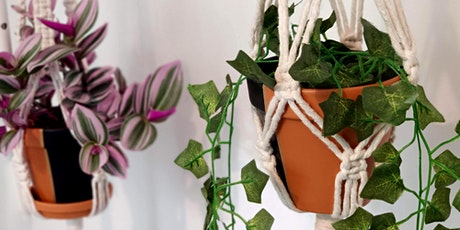 Intermediate Macrame Workshop - Saltaire Plant Hanger tickets