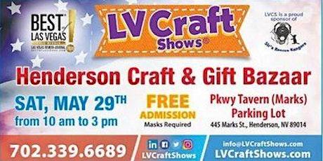Henderson Craft & Gift Bazaar tickets