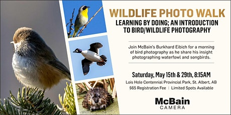 Learning By Doing; An Introductionto Bird/Wildlife Photography tickets