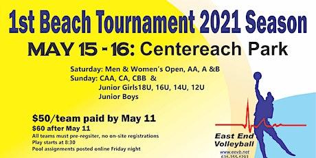 Centereach Beach Volleyball Tournament tickets