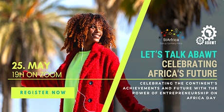 Let's talk ABAWT: Celebrating Africa's Future - and ode to Africa Day tickets
