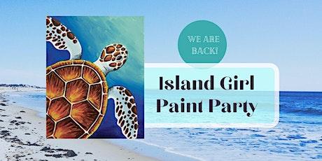 Island Girl Paint Party at Rockaway on Camano tickets
