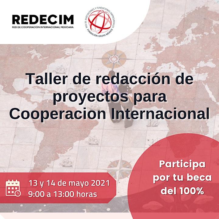 Imagen de Taller de Redacción de Proyectos para Cooperación Internacional