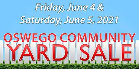 2021 Oswego Community Yard Sale tickets