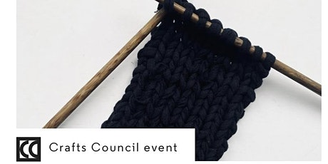 Hey Craft! 2021 - Beginners Hand Knitting Workshop using your old T-shirts tickets