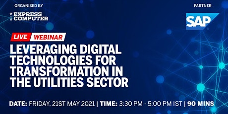 Leveraging digital technologies for transformation in the utilities sector tickets