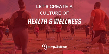 Camp Gladiator Community Workout tickets