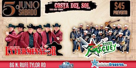 GRUPO EXTERMINADOR Y BANDA MAGUEY tickets