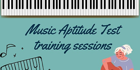Copy of Music Aptitude Test Training Sessions tickets