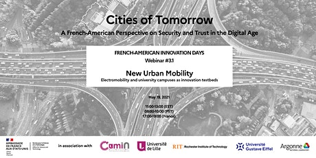 Cities of Tomorrow - Webinar #3.1 - Electromobility and university campuses tickets