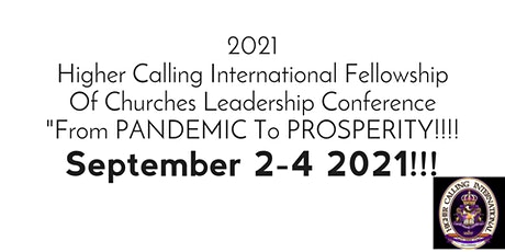 2021 HCIFOC Leadership Conference tickets