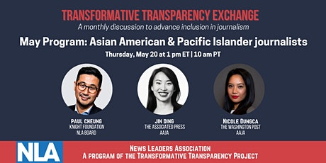 Transformative Transparency Exchange: Support for AAPI journalists tickets