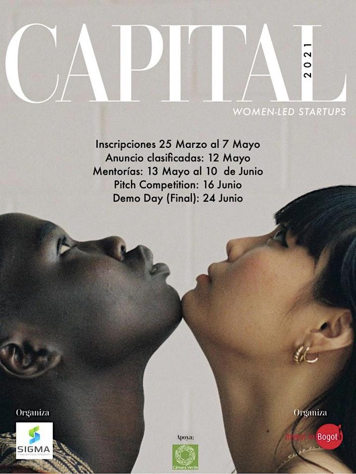 Programa de Mentoría y Rueda de Inversión: Capital for Women-Led Startups image