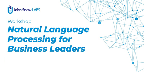 Natural Language Processing for Business Leaders - Training tickets