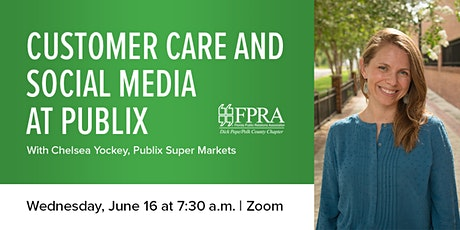 June Monthly Meeting: Customer Care and Social Media at Publix tickets