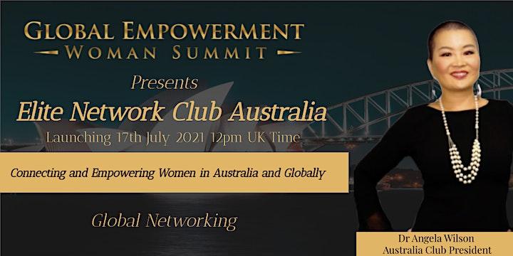 ELITE NETWORK AUSTRALIA  CLUB LAUNCH image