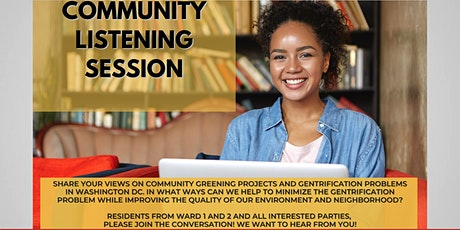 Green Infrastructure & Gentrification: Community Listening Session tickets