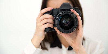 Advanced Digital Photography Virtual Class tickets