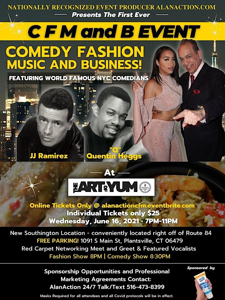 AlanAction.Com Presents the CFM and B  Event Wednesday 6/16/2021 7 P.M. image