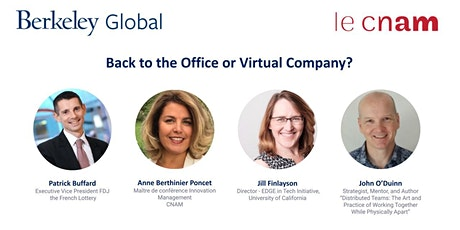 Back to the Office or Virtual Company? entradas