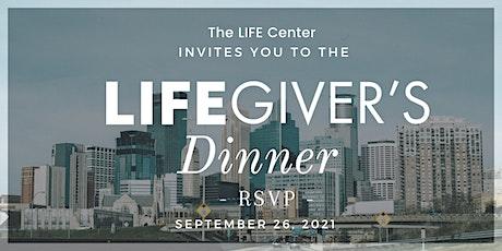 LifeGiver's Dinner 2021 tickets