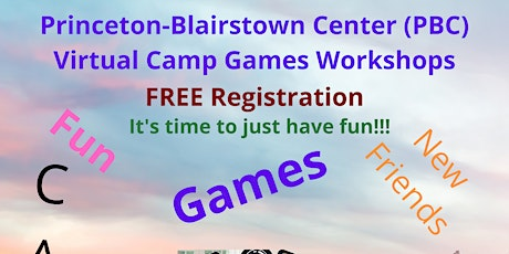7th and up Camp...Princeton-Blairstown Center (PBC) Workshop tickets