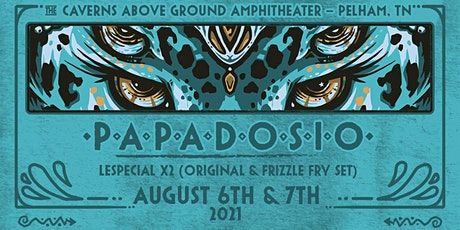 Papadosio with Lespecial at The Caverns Above Ground Amphitheater tickets