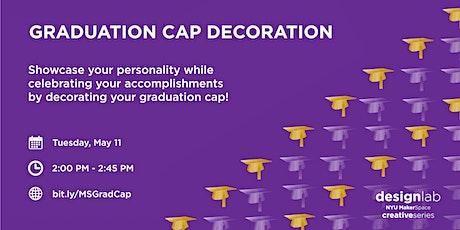 Graduation Cap Decoration tickets