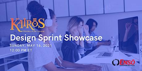 Kairos Design Sprint Showcase tickets