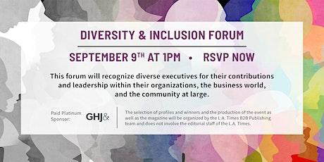 Diversity & Inclusion Forum tickets