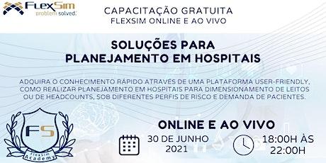 Soluções para Planejamento em Hospitais ingressos