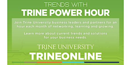 Trends with Trine Power Hour - Hybrid Event tickets