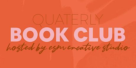 Quarterly Book Club tickets