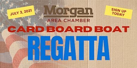 Morgan's Independence Day Cardboard Boat Regatta tickets