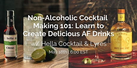 Non-Alcoholic Mixology Workshop w/ Lyre's Spirits & Hella Cocktail tickets