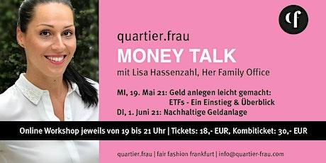 Money Talk mit Lisa Hassenzahl aus dem Quartier Frau Tickets