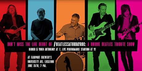 #Beatlessaturdayroc Live! tickets