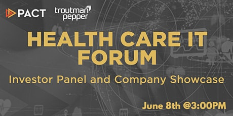 Health Care IT Forum: Investor Panel  and Company Showcase tickets