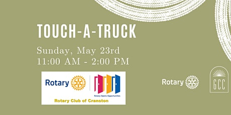 Cranston Rotary Touch a Truck tickets