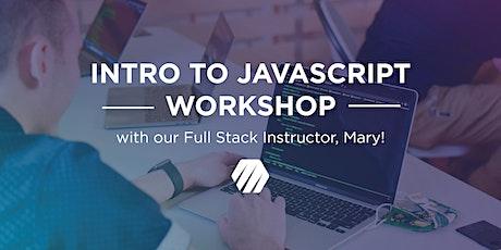Intro to Javascript Workshop tickets