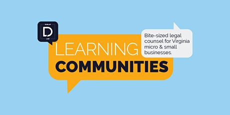 Learning Communities tickets