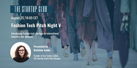 Fashion Tech Pitch Night V tickets