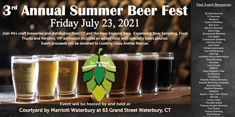 3rd Annual Summer Beer Fest tickets