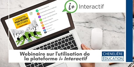 Formation numérique i+ Interactif | Initiation à la psychologie tickets