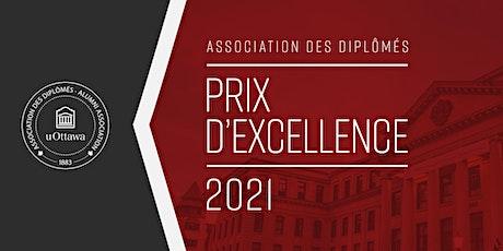 Prix d'excellence de l'Association des diplômés (cérémonie virtuelle) billets