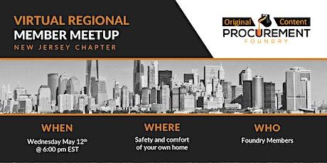Virtual Member Meetup New Jersey Chapter tickets