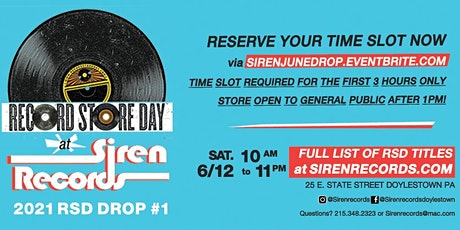 Record Store Day Drop #1 Reservations! tickets