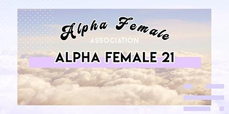 The Alpha Female 21  Summit tickets