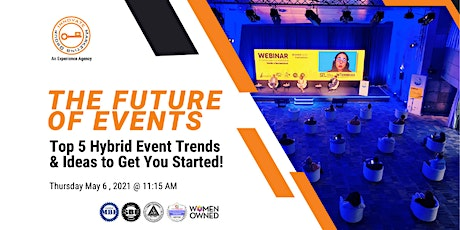 Future of Events: Hybrid Trends and Creative Ideas to get you started! tickets